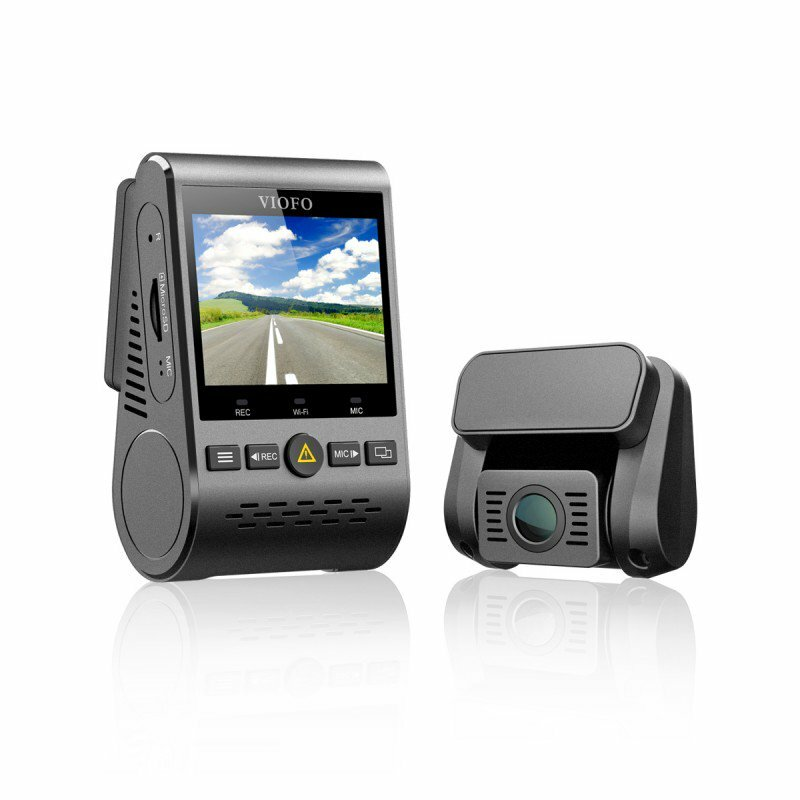 Viofo A129-DG Duo Dual Channel 5GHz Wi-Fi Full HD Car Dash Dual Camera DVR with GPS
