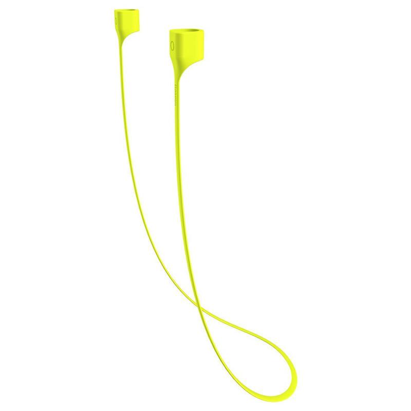 Baseus Magnetic Silicona Correa Flexible de Seguridad Cuello Correa para AirPods iPhone Auricular Auriculares