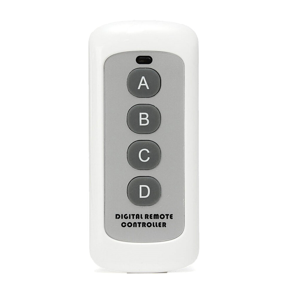 433MHz 4 Button EV1527 Code Remote Control Switch RF Transmitter Wireless Key for Home Door Opener