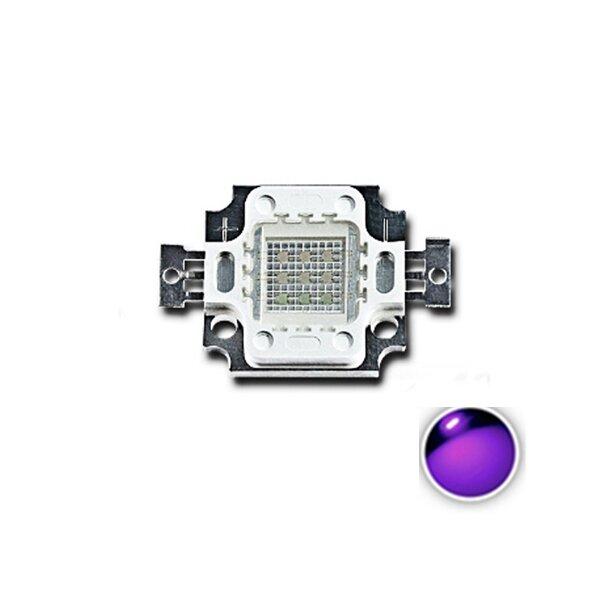 LUSTREON 10W UV Lilla LED COB Perle Light High Power Ultraviolet DIY Lampe Chip
