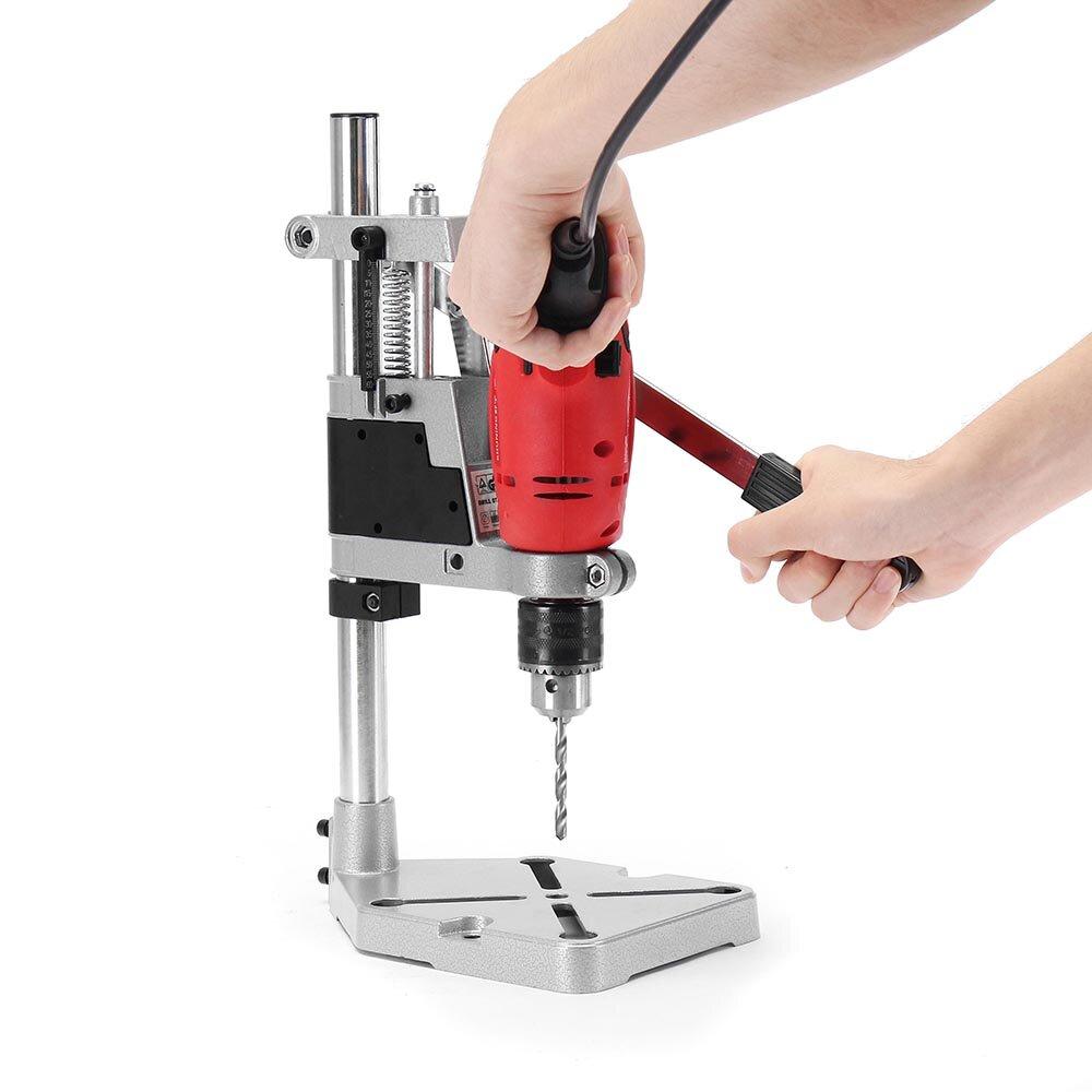 Machifit elektrische boorbeugel 400 mm boorhouder grinder rack stand klem bankdrukken standaard