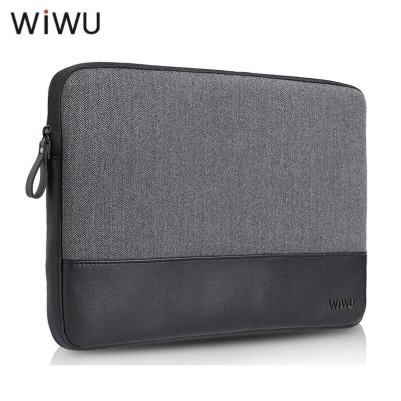 WIWU 13.3 inch Túi xách lông kiểu Anh