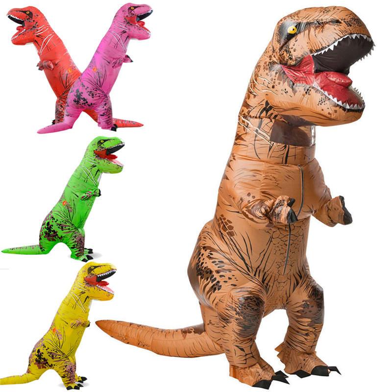dinosaur kostume voksen