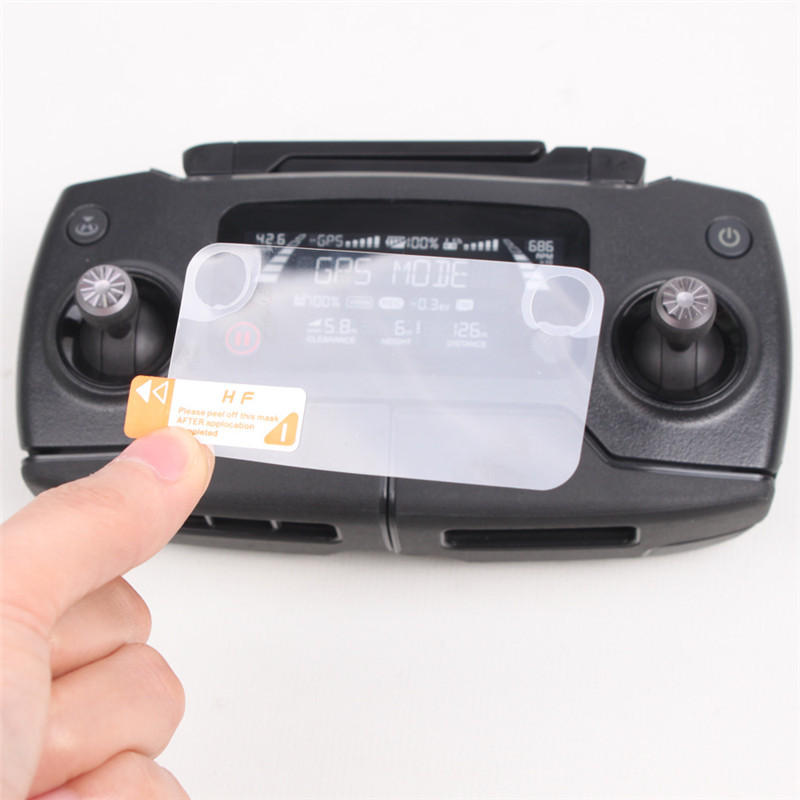 2PCS Controller Screen HD Protective Film for DJI MAVIC 2 and MAVIC PRO RC Drone