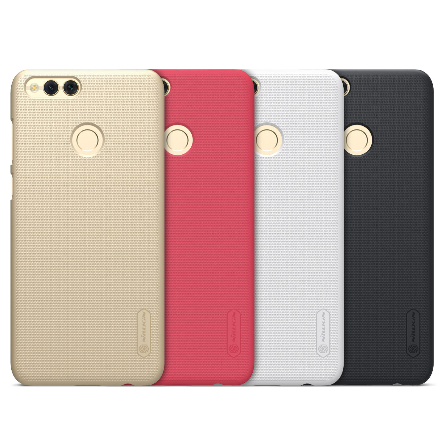 official photos 562fe 42c77 NILLKIN Frosted Shield PC Hard Back Cover Case For Huawei Honor 7X