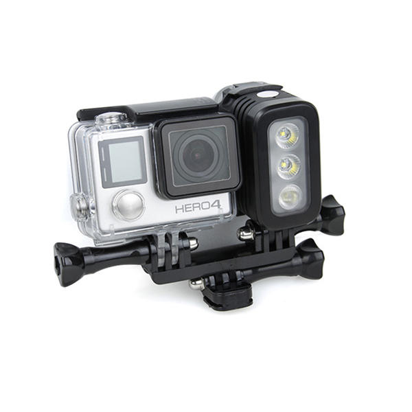 Waterproof LED Flash Fill Light Spot Lamp for Gopro Hero 4 Session SJCAM Xiaomi Yi DSLR Camera