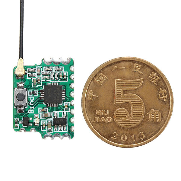 2.4G 8CH D8 Mini FrSky Bộ thu tương thích với đầu ra PWM PPM SBUS