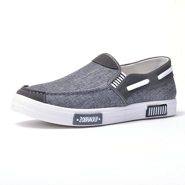 Men Canvas Casual Soft Comfy Daily Business Loafers