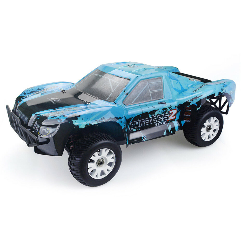 ZD Racing 9203 1/8 2.4G 4WD 80km/h Brushless Rc Car Electric Short Course Truck RTR Toys