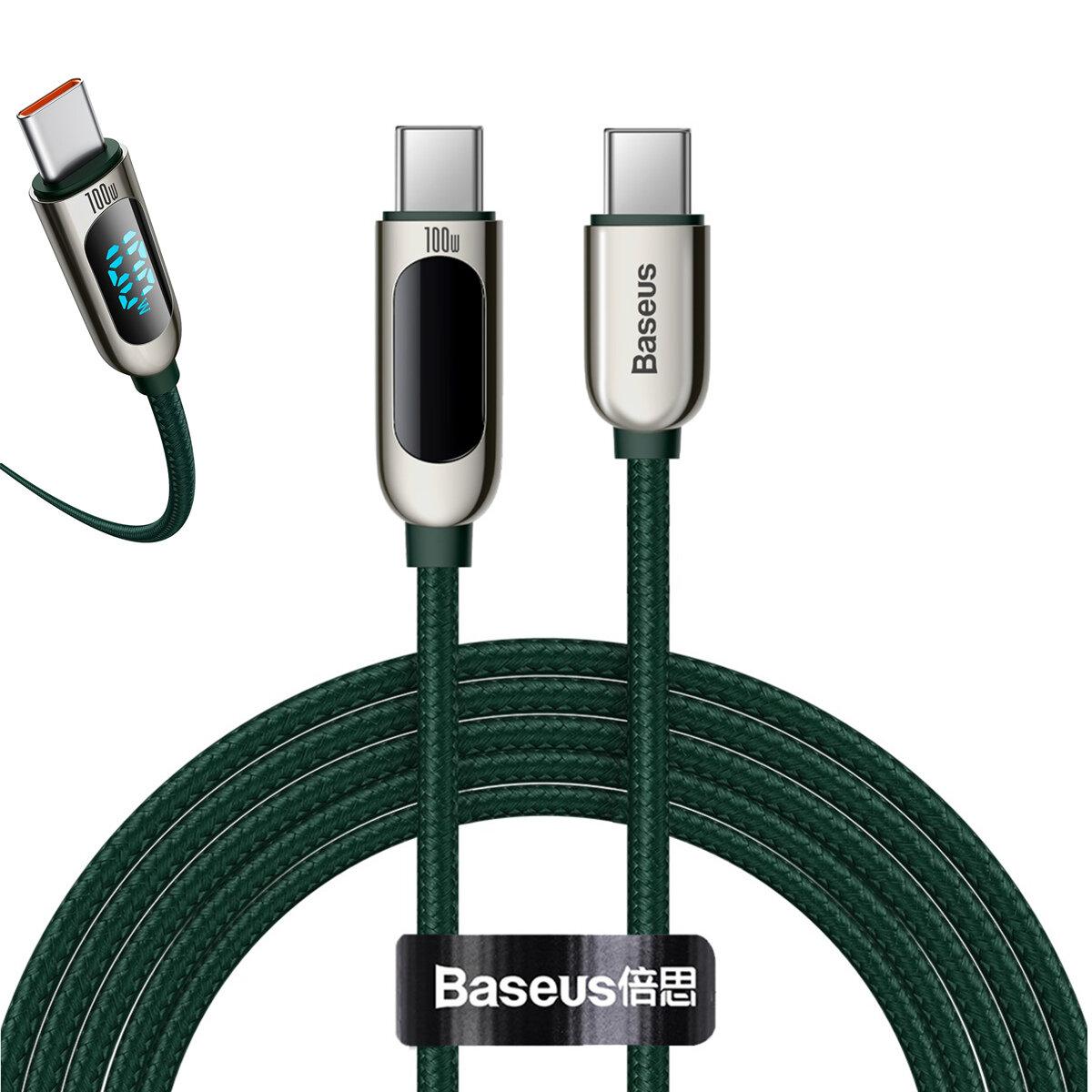Kabel USB C do USB C Baseus 100W za $11 / ~43zł
