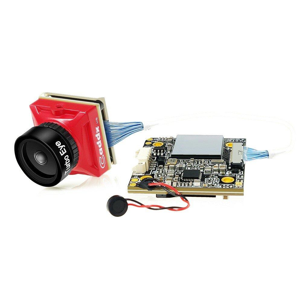 Caddx Turtle V2 1080p 60fps FOV 155 Degree Super WDR Mini HD FPV Camera OSD  Mic for RC Drone