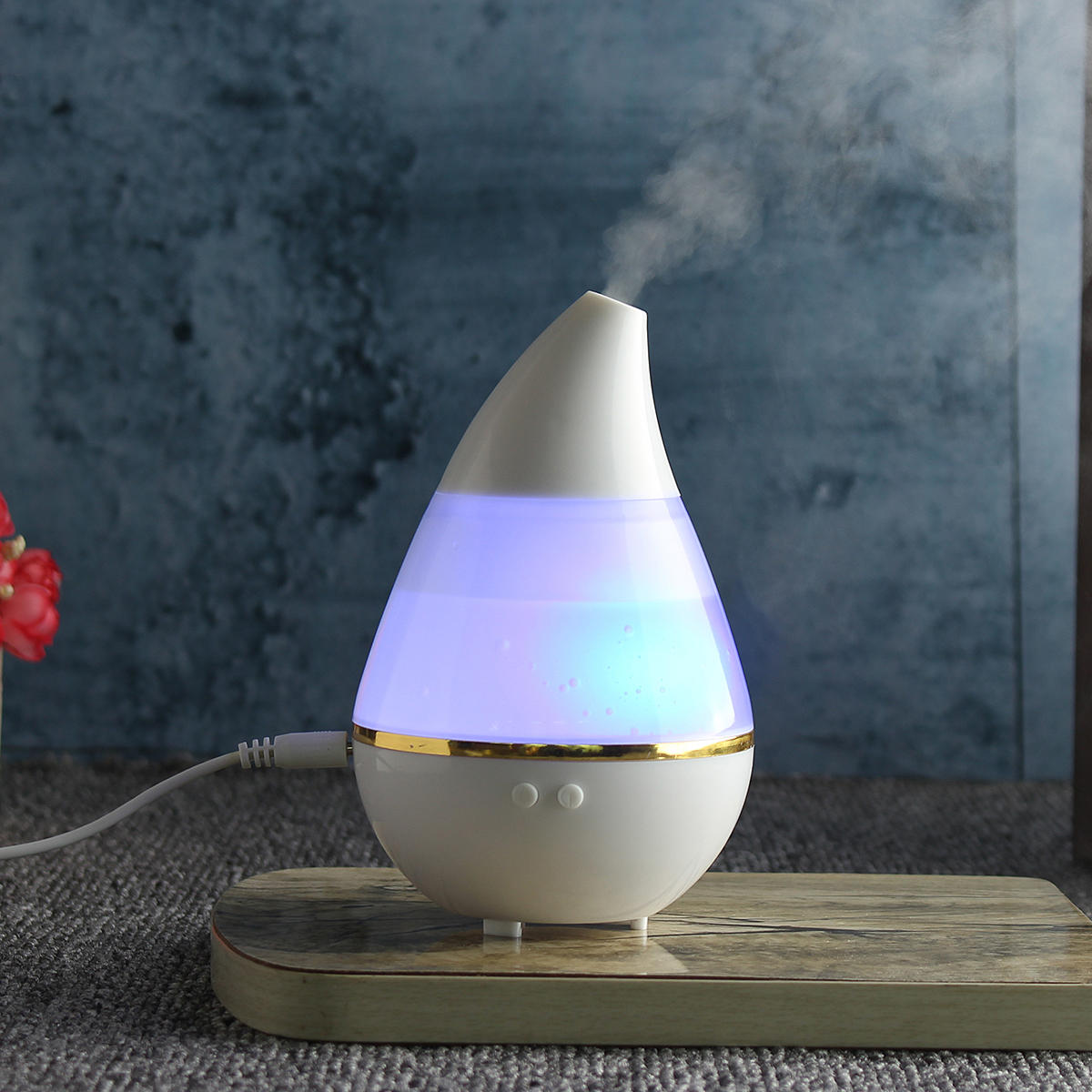 7 Color LED Ultrasonic Aroma Humidifier Air Aromatherapy Essential Oil Diffuser