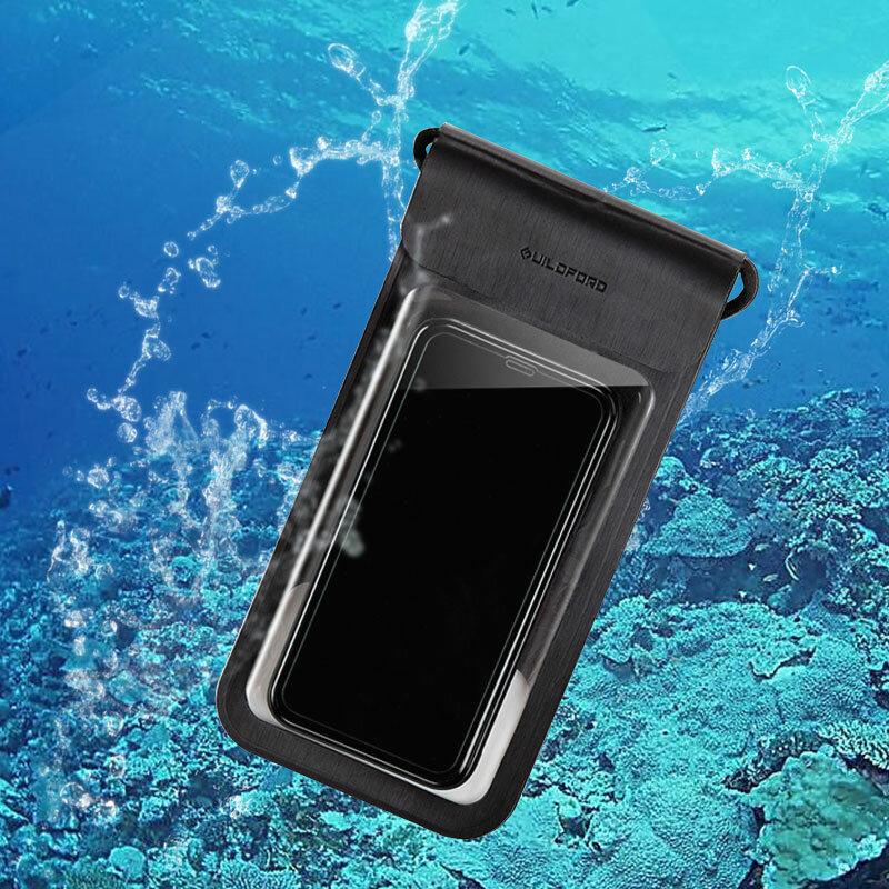 गिल्डफोर्ड 6 इंच IP67 वॉटरप्रूफ सेल फोन केस होल्डर स्मार्टफोन बैग टच स्क्रीन iPhoneX 6 6S 7 8 Plus Xiaomi Youpin