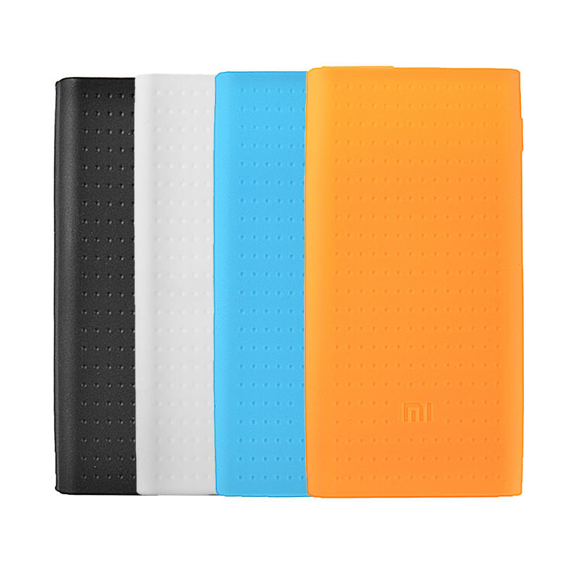 best authentic 580a9 a4b44 Silicone Protective Back Cover Case For Xiaomi Power Bank 2 20000mAh