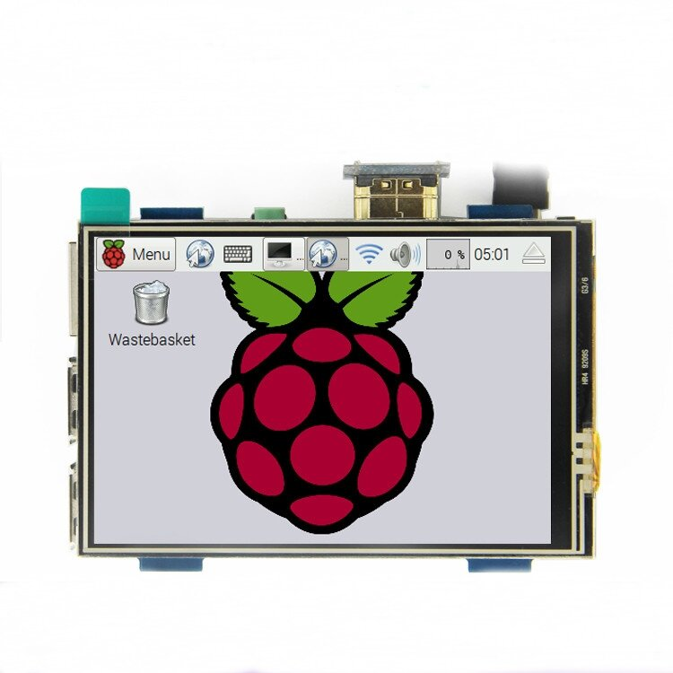 MPI3508 3.5 inch USB Touch Screen Real HD 1920x1080 LCD Display For Raspberry Pi 3/2/B+/B/A+