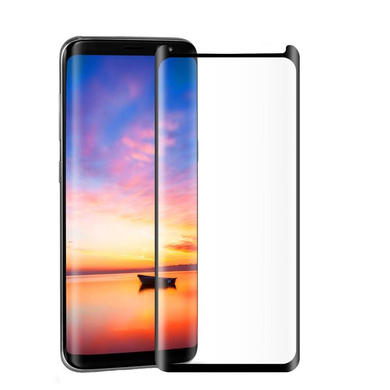 buy popular dfde3 d9da0 Bakeey Full Adhesive 3D Curved Edge Case Friendly Tempered Glass Screen  Protector For Samsung Galaxy S8 Plus