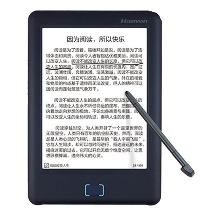 E-book Reader Ink Screen Touch 8G+32G 6 inch EPD 1024 x 758 Wifi TTS Voice  Technology Pen Note Ebook Reader