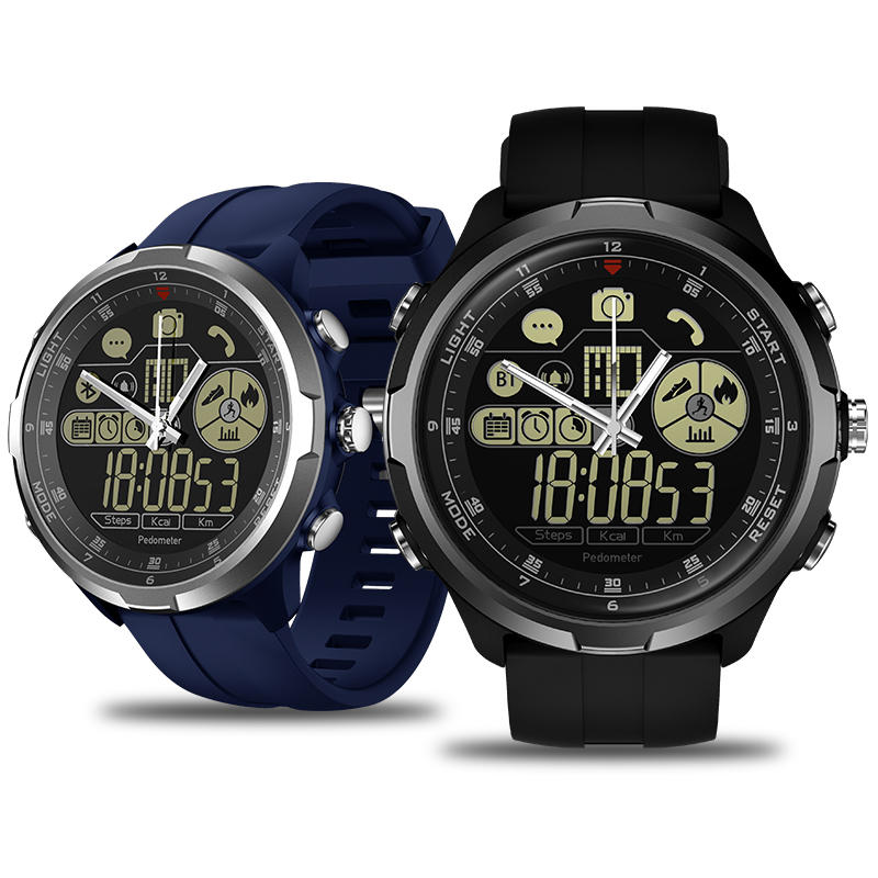 Zeblaze VIBE 4 HYBRID 1.24' All-day Activity 50ATM Call Social Message Reminder 24-month Standby Smart Watch