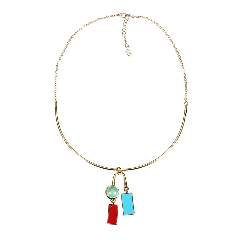 JASSY® elegante cuelga el esmalte Colgante collar delicado joyería de moda para Mujer