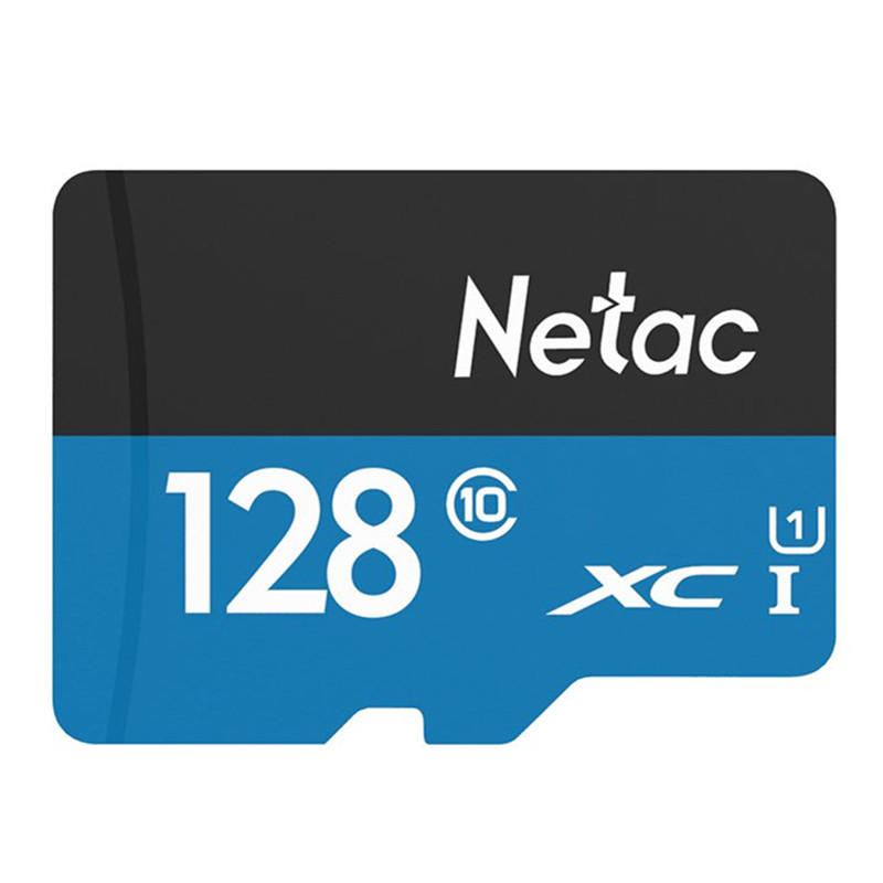Netac P500 128GB Class 10 High Speed Data Storage Memory Card TF Card For Cell Phone