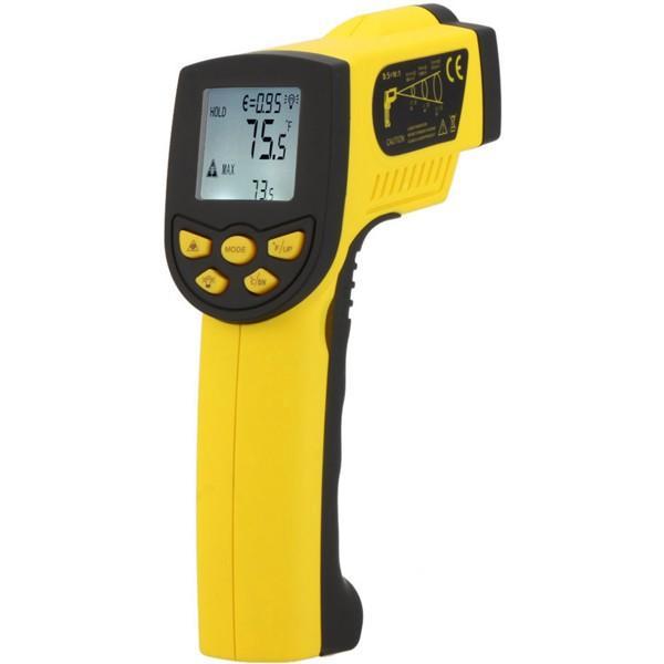 HoldPeak HP-1300 -50-1300 ℃ IR Láser Termómetro Pistola de temperatura