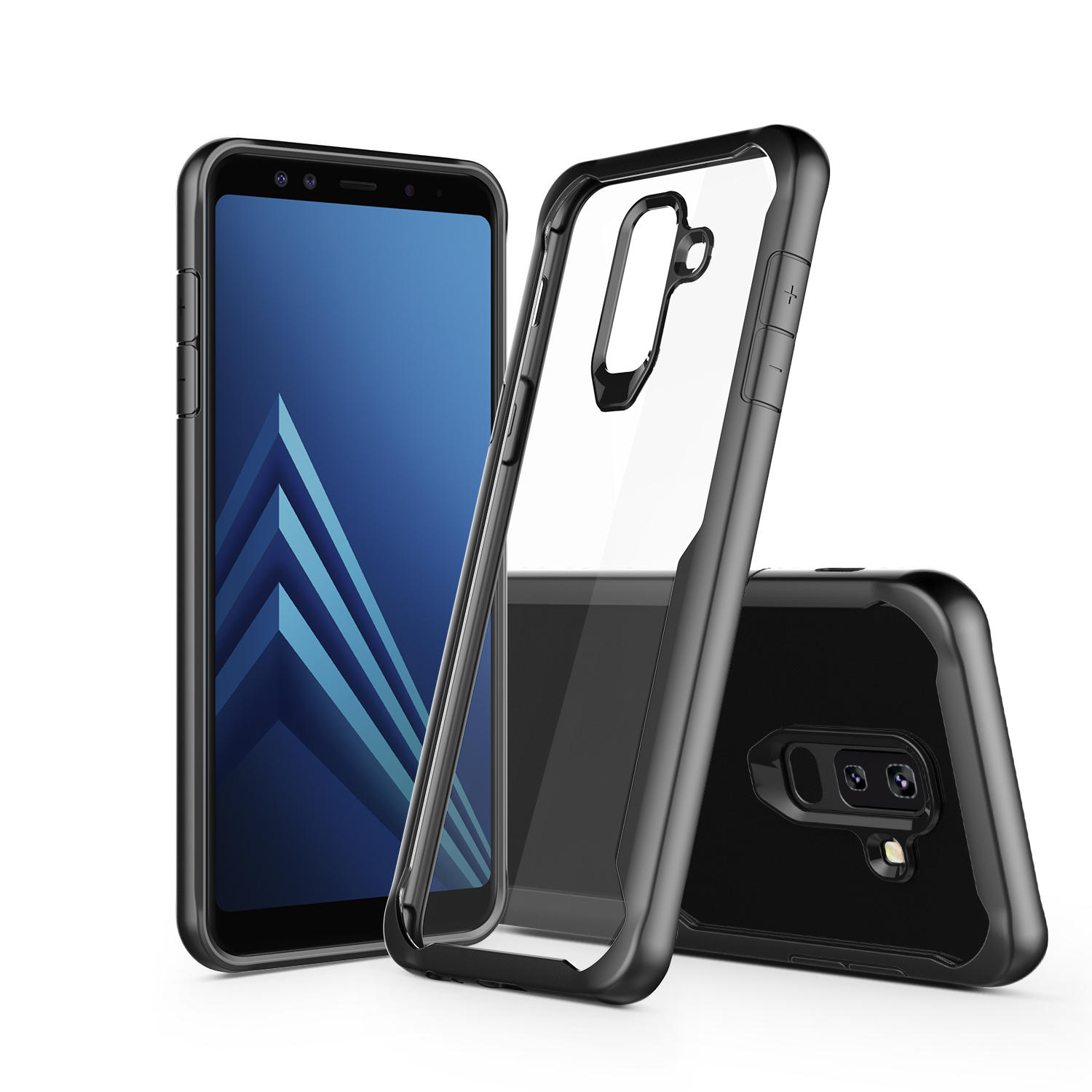 newest 795e9 89233 Bakeey Airbag Acrylic Clear TPU Protective Case for Samsung Galaxy A6/A6  Plus 2018