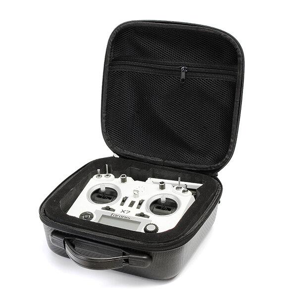 Realacc Handbag Backpack Bag Case with Sponge for Frsky Taranis X9D PLUS SE Q X7 Transmitter for RC Drone