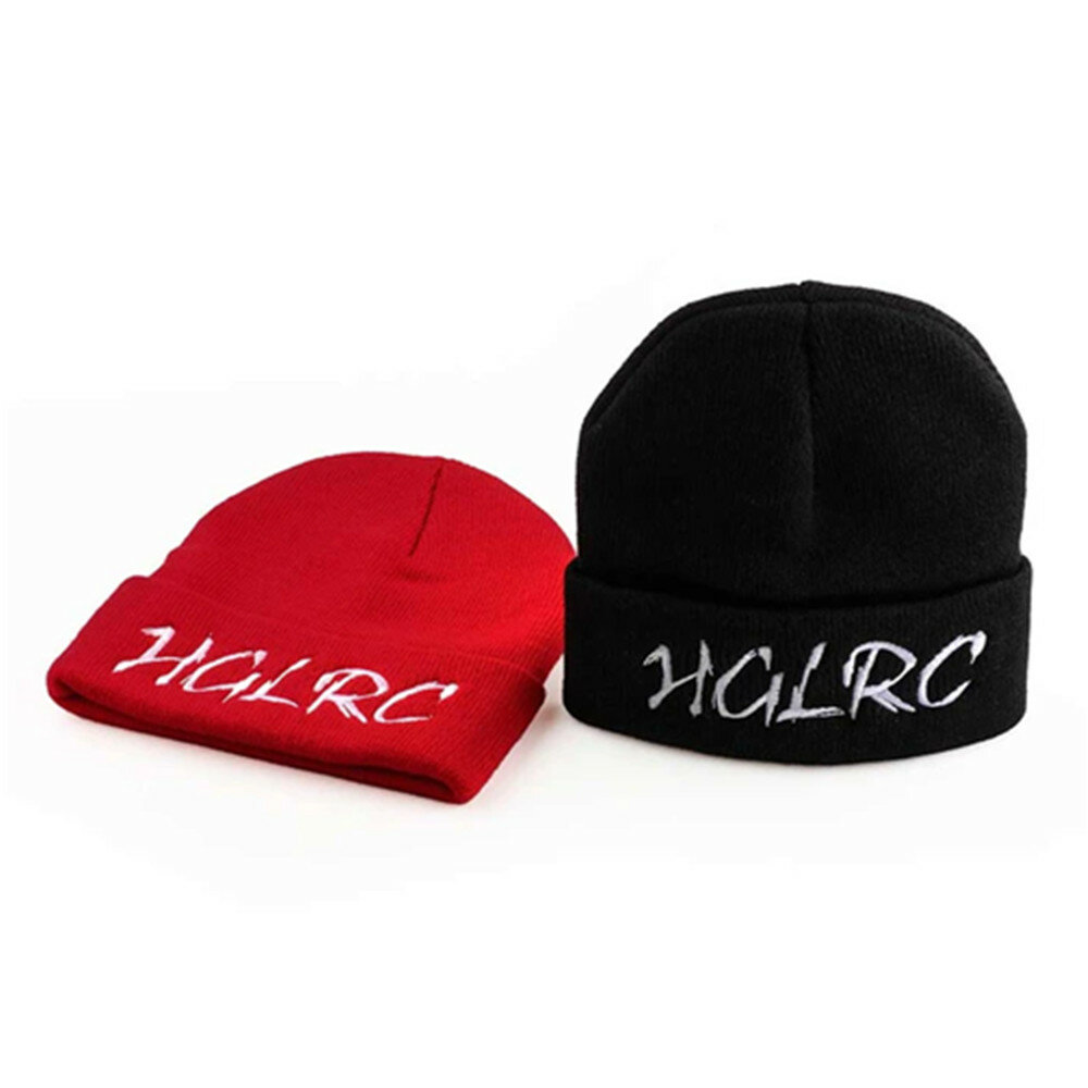 HGLRC Windproof Knit Hat Red