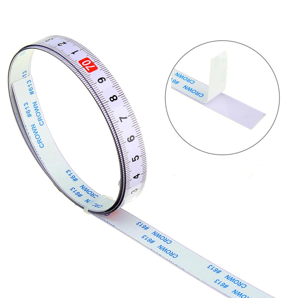 10m Self Adhesive Measuring Tape Measure Tapes R to L