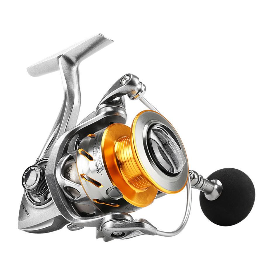 SeaKnightRAPID2000-6000Hبكراتالغزل6.2: 1 / 4.7: 1 10 + 1BB مكافحة التآكل عجلة الصيد الصيد في المياه المالحة بكرة