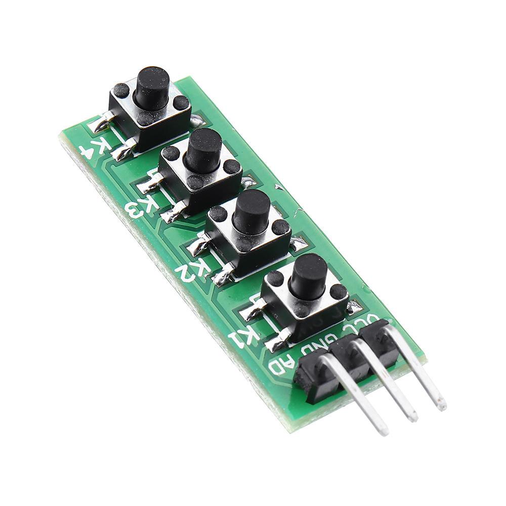 Keypad 4 Button Key Module Switch Keyboard For Arduino UNO MEGA2560 Breadboard