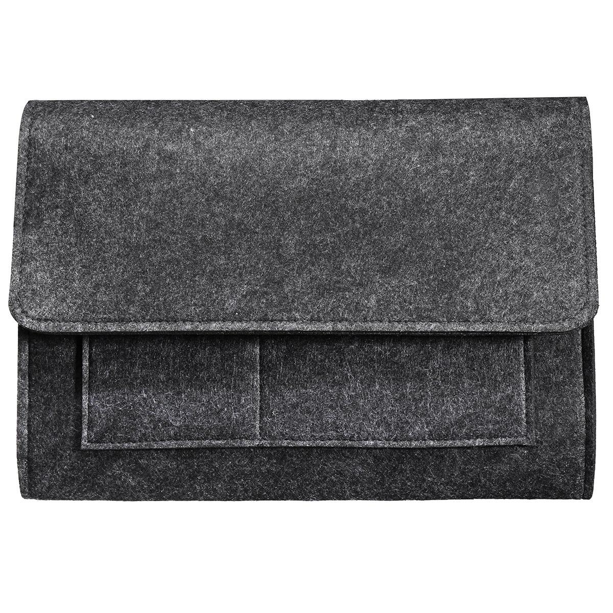 Bedside Storage Pocket Hanging Bag Felt Sofa Book Organizer Remote Home Holder