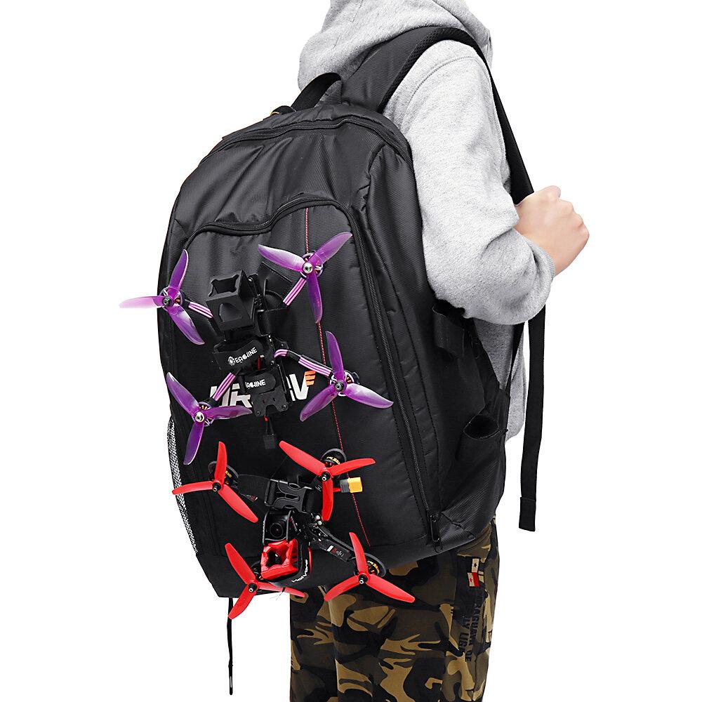 URUAV UR7 36L Backpack 40x55x22mm with Waterproof Transmitter Beam Port Bag DIY Room for RC Drone FPV Racing