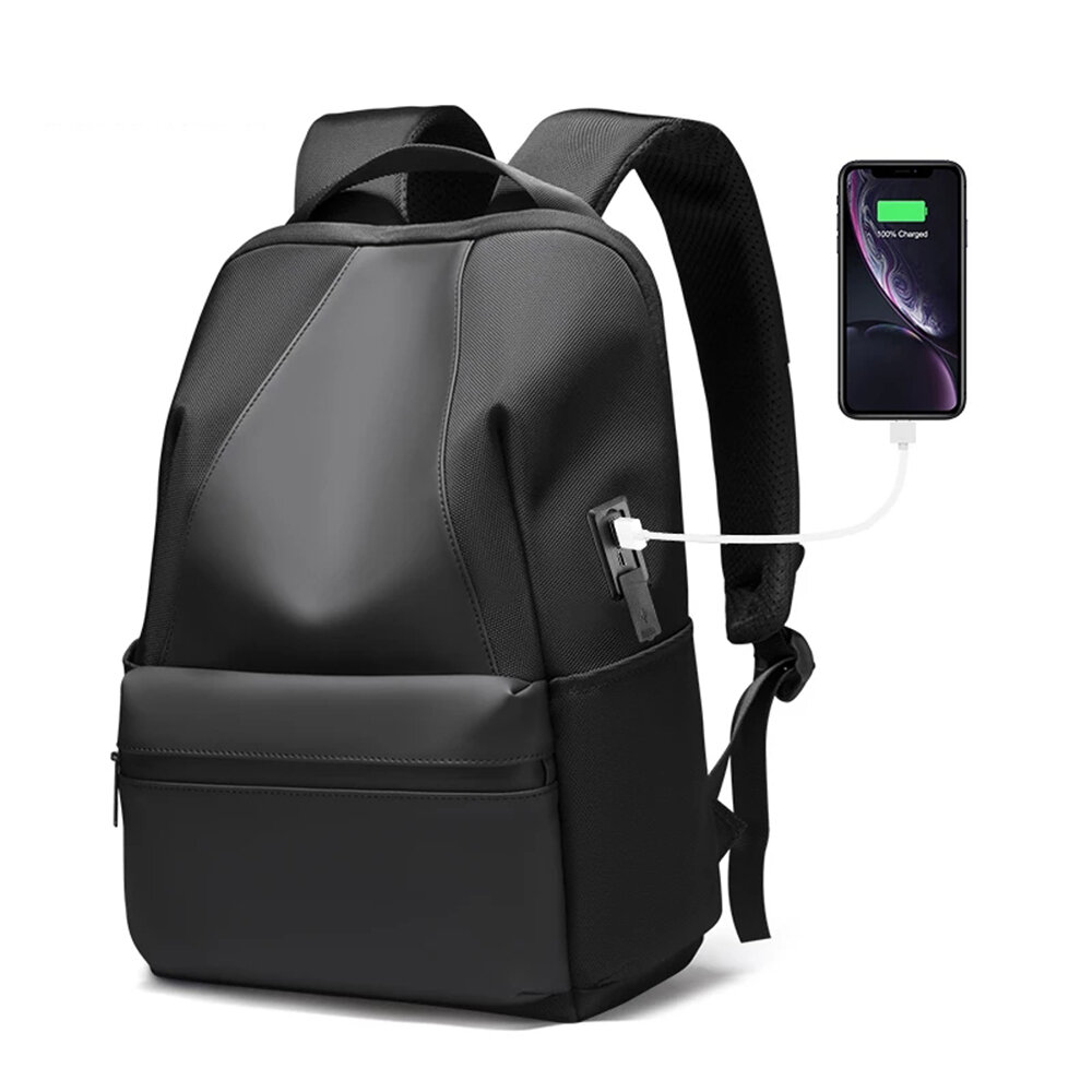 Mark Ryden Water-repellent 20L Laptop Backpack Casual Business Bag with Charging Port for 15.6 inch Laptop
