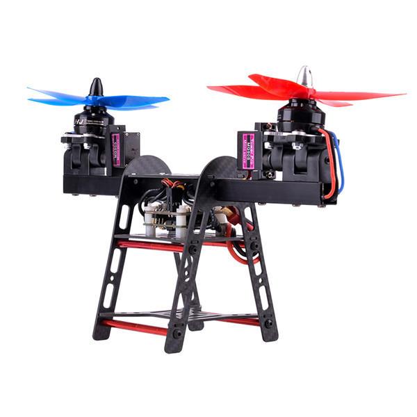 HJ-2502 250mm empattement 2-Axe en fibre de carbone en aluminium FPV Racing Frame Kit pour RC Drone