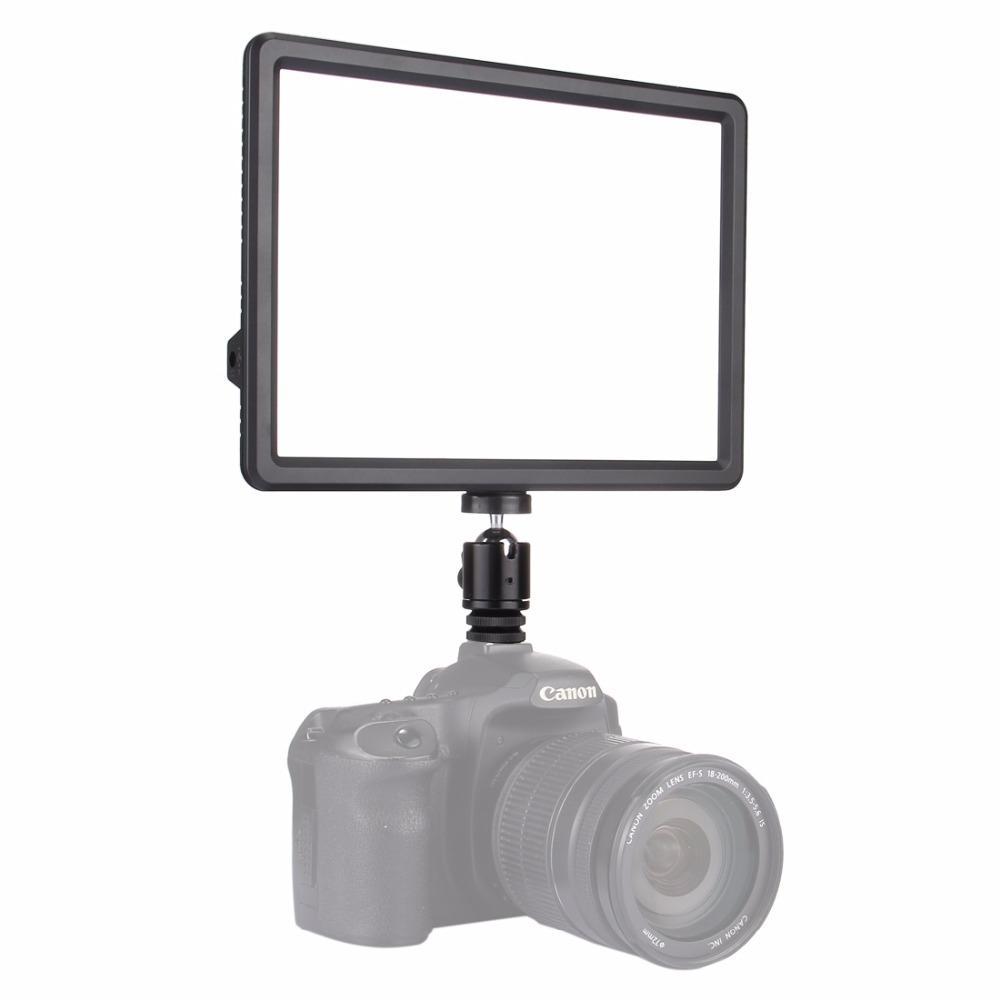 PULUZ PU4104 Video Light Photo Fill LED Light for Camera Camcorder DSLR