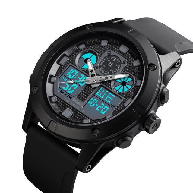 SKMEI 1514 Outdoor Sports 50M Waterproof Chronograph Stopwatch Digital Watch Men Watch