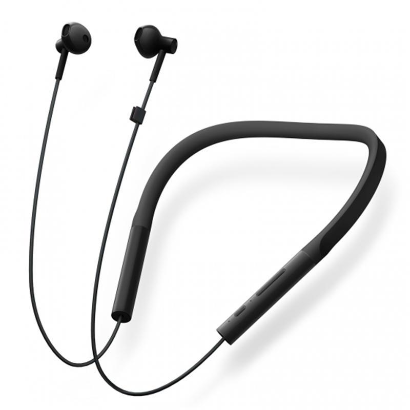 Xiaomi Youth Version Neckband Wireless bluetooth Earphone HiFi Dynamic Sports Headphone with Mic - Orange