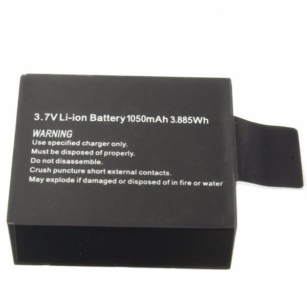 Hawkeye Firefly 7S 4K Camera Spare Part 3.7V 1050mA Li-on Battery