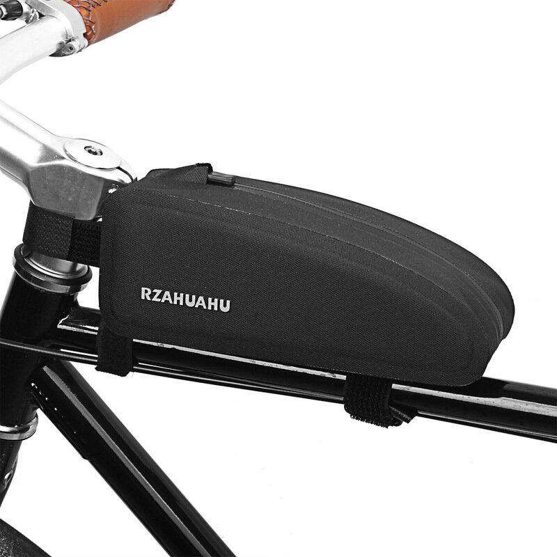 Rzahuahu Bike Front Frame Bag Waterproof Bicycle Top Tube Bag Storage Bag Cycling Bike Bag Sale Banggood Com