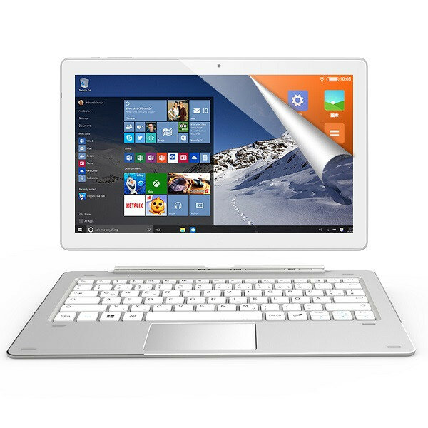 Original Box ALLDOCUBE iWork10 Pro 64GB Intel Atom X5 Z8330 10 1 Inch Dual  OS Tablet With Keyboard