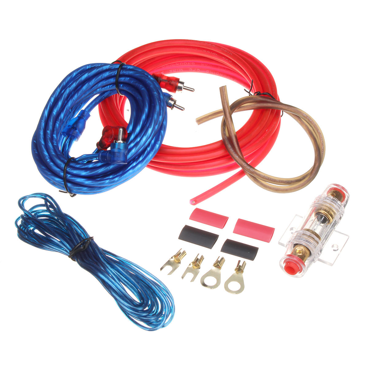 subs and amp wiring car audio subwoofer sub amplifier amp rca wiring kit power audio  car audio subwoofer sub amplifier amp
