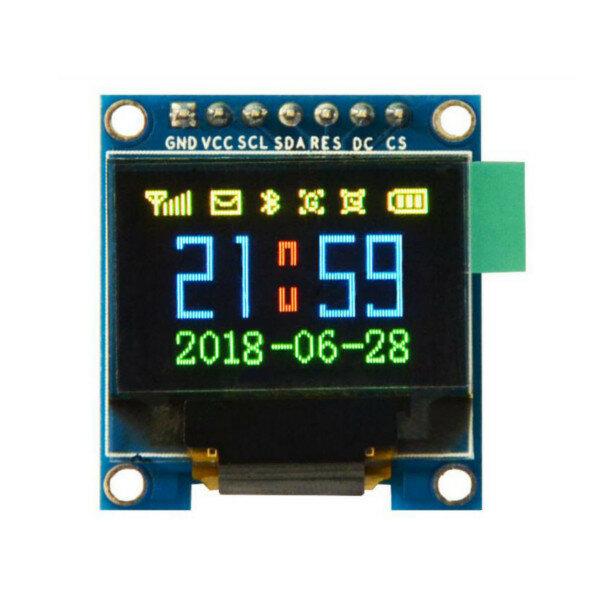 0.95 Inch 7pin Penuh Warna 65K Warna SSD1331 SPI OLED Tampilan Geekcreit untuk Arduino - produk yang bekerja dengan papan Arduino resmi