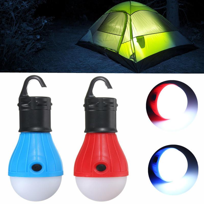 Portable Hanging LED Camping Tent Light Bulb Fishing Lantern Lamp Outdoor Hiking