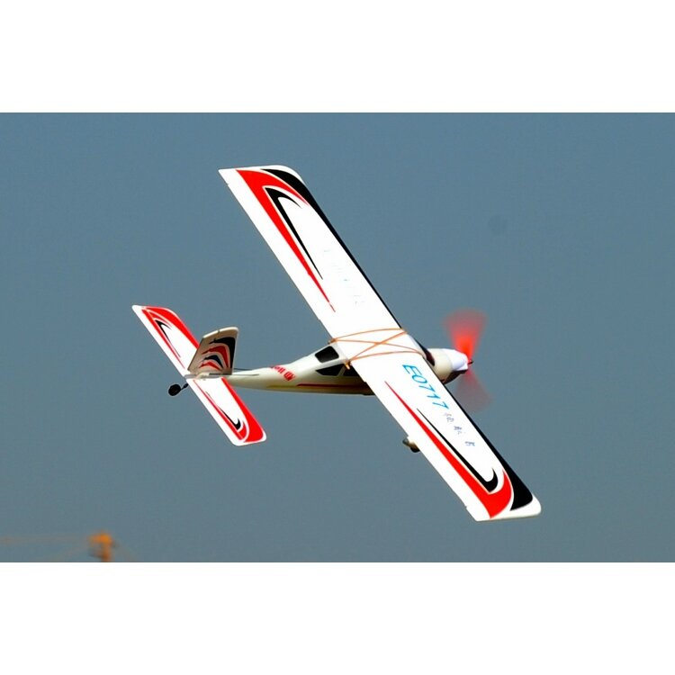 E0717 1030mm Wingspan Fixed Wing RC Airplane Aircraft KIT/PNP Trainer Beginner