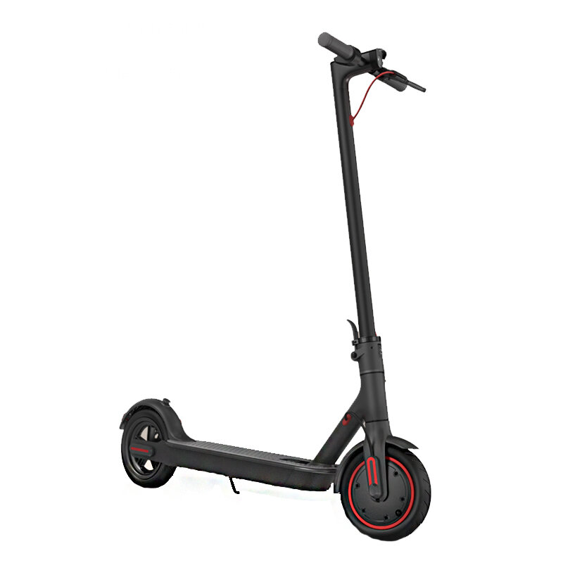 2019 Xiaomi Electric Scooter Pro 300W Motor 3 Speed Modes 25km/h Max. Speed 45km Mileage Range 12.8Ah Battery Double Brake System Multi-function Control Panel - Black
