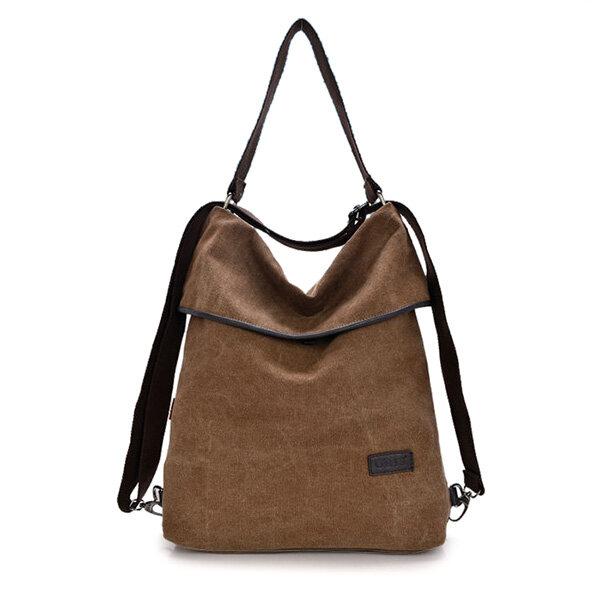 60ebb801b62f Women Canvas Handbags Girls Casual Shoulder Bags Backpacks Crossbody Bags