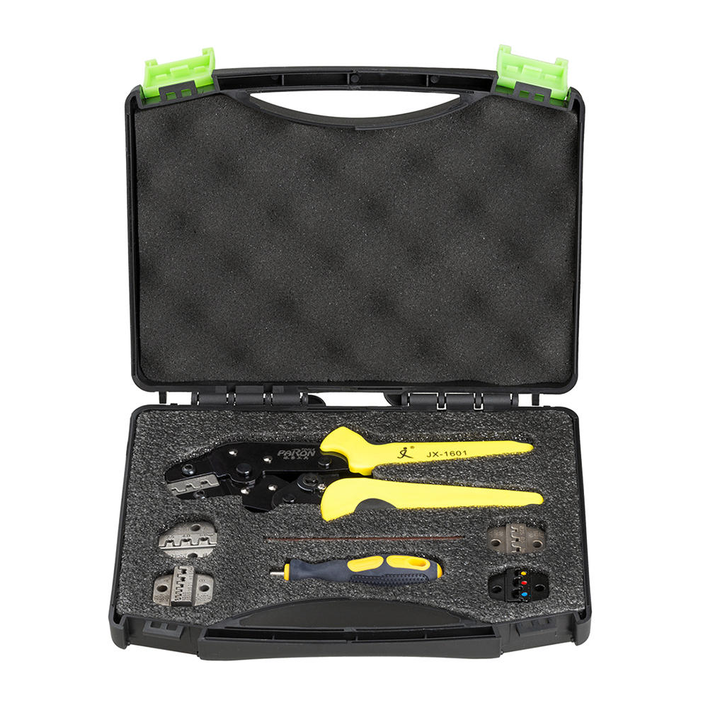 Paron® JX-D5 Multifunctional Ratchet Crimping Tool Wire Strippers Terminals Pliers Kit