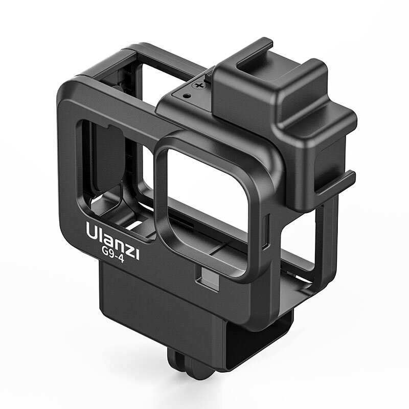 Ulanzi Lightweight Rabbit Cage for GoPro Hero 9 Black Dual Cold Shoe Camera Cover