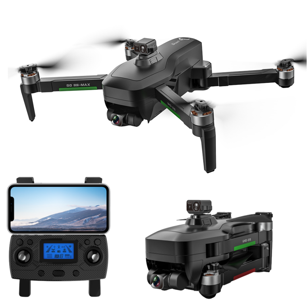 ZLL SG906 MAX1 5G WIFI 3KM FPV with 4H HD Camera 3-Axis Anti-shake Gimbal Obstacle Avoidance Brushless RC Drone Quadcopt